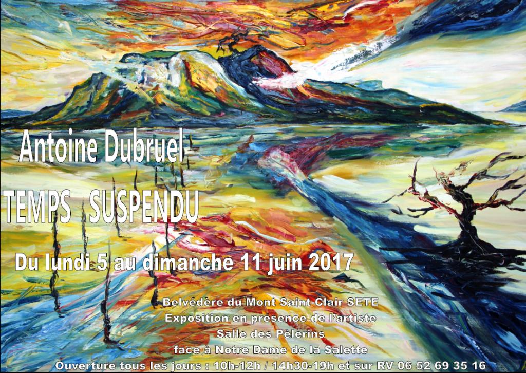 Exposition Sète 2017 temps suspendu