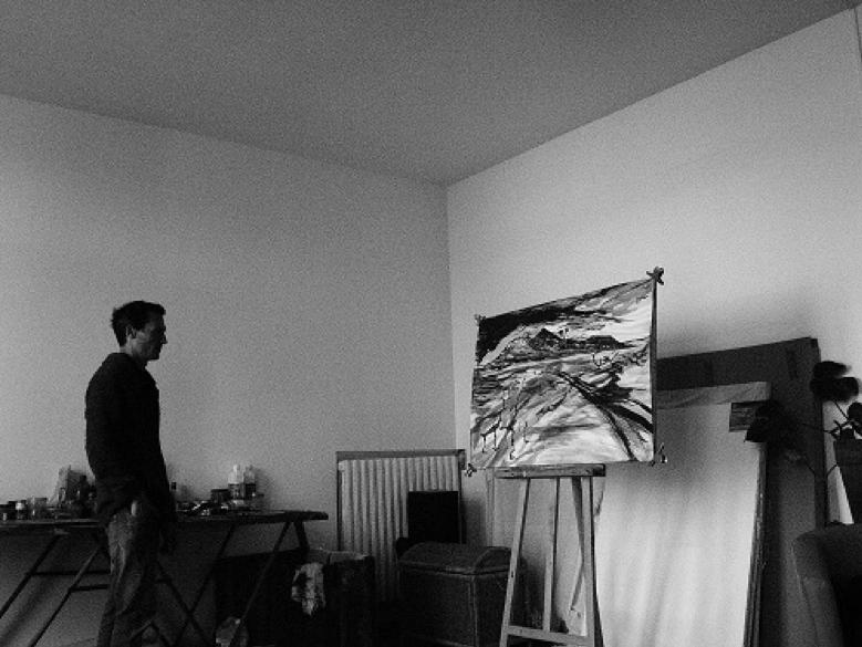 Antoine Dubruel sans son atelier